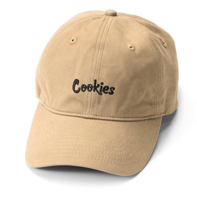 Cookies Cookies Original Mint Embroidered Dad Cap Khaki/Blk