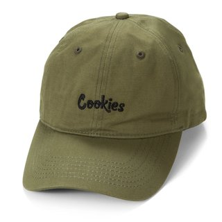 Cookies Cookies Original Mint Embroidered Dad Cap Olive/Blk