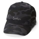Cookies Cookies Original Mint Embroidered Dad Cap Blk Camo/Charcoal