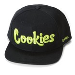 Cookies Cookies Original Mint Twill Snapback Blk/Yellow