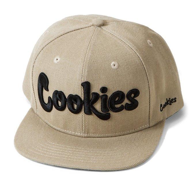 Cookies Cookies Original Mint Twill Snapback Khaki/Black