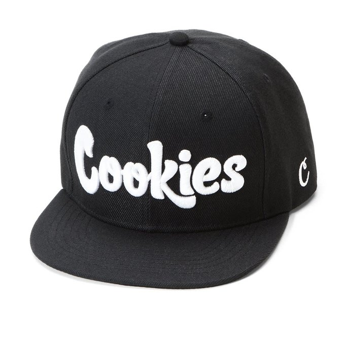 Cookies Cookies Original Mint Twill Snapback Blk/Wht