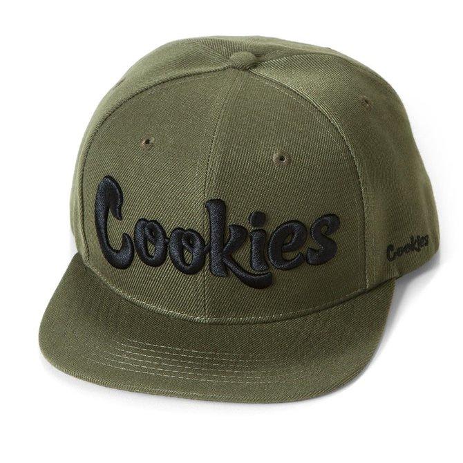 Cookies Cookies Original Mint Twill Snapback Olive/Black