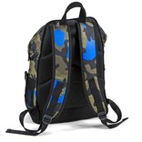 Cookies Cookies Luxe Repeated Logo Backpack Blue Camo