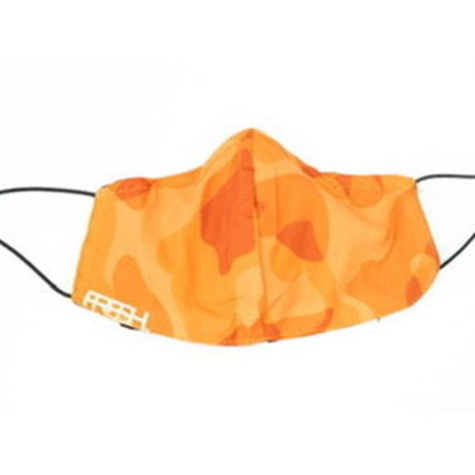 FRESH FRESH. V2 Box Logo Orange Camo Fabric Mask