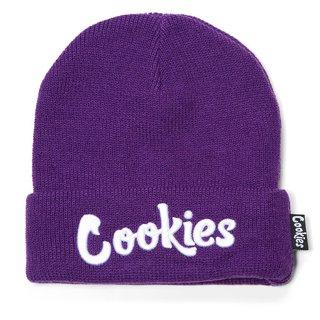 Cookies Cookies Original Mint Beanie Purple/Wht