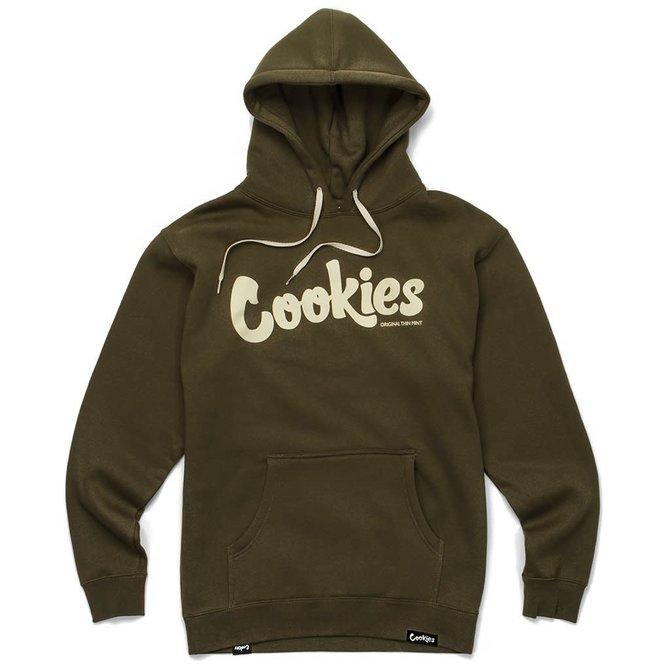 Cookies Cookies Original Mint Fleece Hoody Olive/Cream