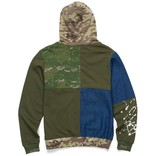 Cookies Cookies Backcountry Color Blocked Pullover Hoody Olive