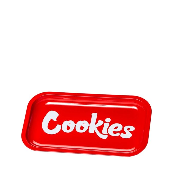Cookies Cookies Medium Size Rolling Tray Red