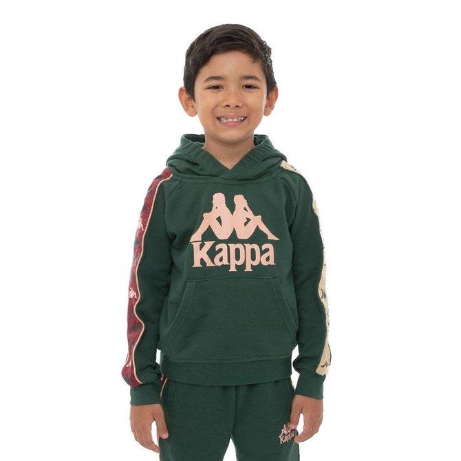 Kappa Kappa Kids 222 Banda Hurtado Grn/DkPnk/Beige/Rd