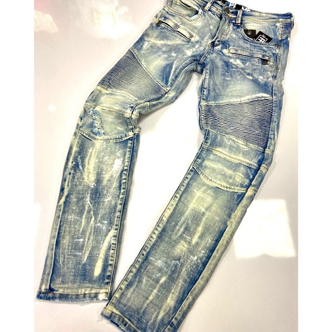 Preme Preme PR-WB-150 Denim Jeans Monaco Indigo