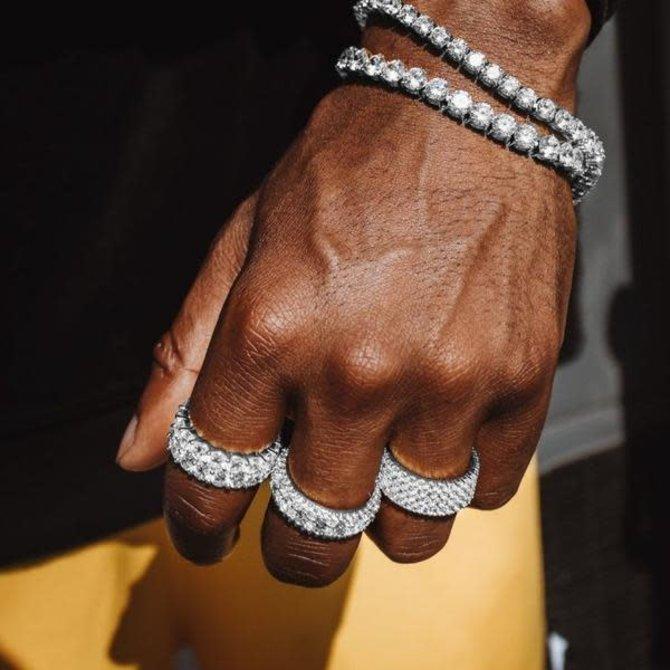 The Gold Gods GoldGods Dual Eternity Ring WG