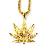 The Gold Gods GoldGods Weed Leaf