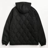 Cookies Cookies Sonoma Quilted Nylon Hooded Jacket Black