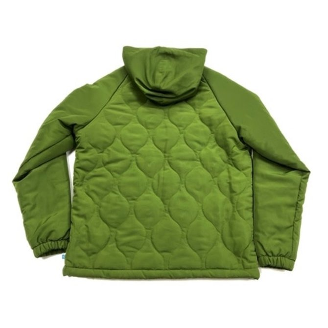 Cookies Cookies Sonoma Quilted Nylon Hooded Jacket Olive