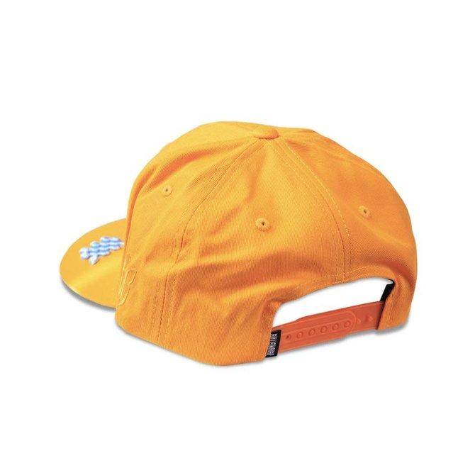 Billionaire Boys Club BBC Arch Snapback Hat Orange Peel