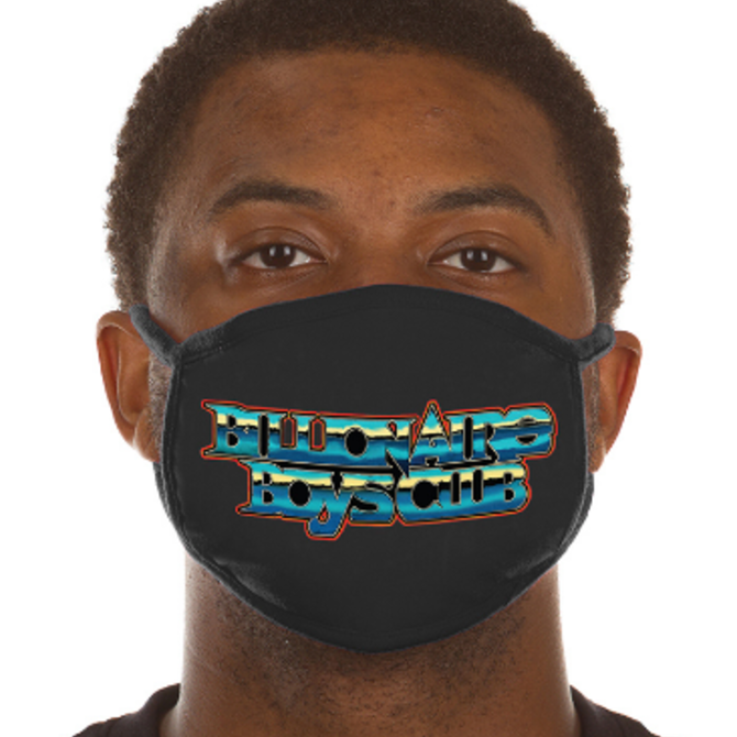 Billionaire Boys Club BBC Chromed Face Mask