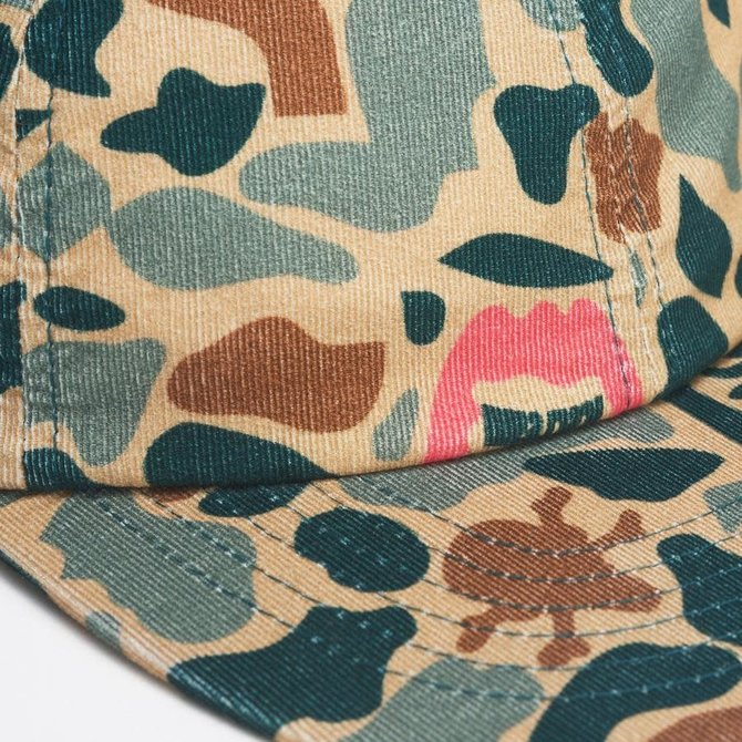 Ice Cream Ice Cream Leaf Polo Hat Camo