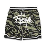 FRESH FRESH Tiger Camo Shorts Green/Black