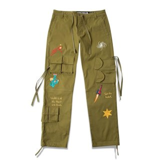 Billionaire Boys Club BBC Stellar Pant Avocado