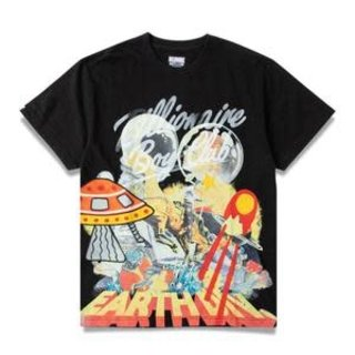 Billionaire Boys Club BBC Battle Earth SS Knit Black