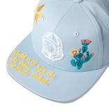 Billionaire Boys Club BBC Wave Twill Hat Dream Blue