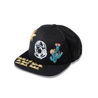 Billionaire Boys Club BBC Wave Twill Hat Black