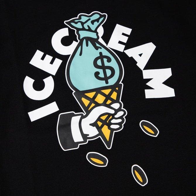 Ice Cream Ice Cream Cash Rules SS Tee Black