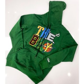 FRESH FRESH The Bay Embroidered Hoodie Green