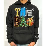 FRESH FRESH The Bay Embroidered Hoodie Black