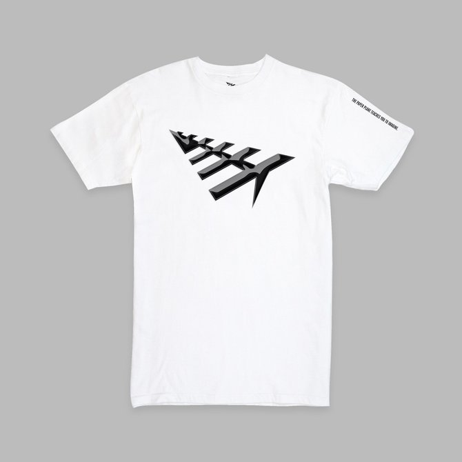 Paper Planes Paper Planes All Points Tee White