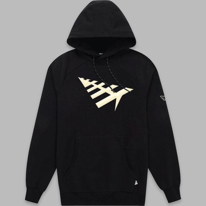 Paper Planes Paper Planes All Points Hoodie Black
