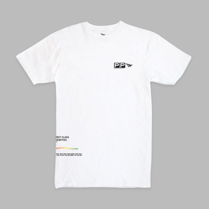 Paper Planes Paper Planes GIAP Oversized Tee White