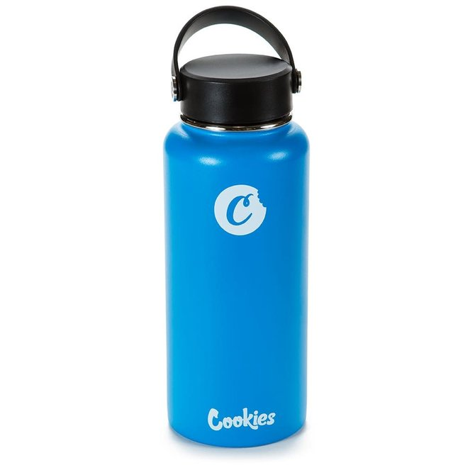 Cookies Cookies 32oz Matte Finish Hot/Cold Water Bottle Blue