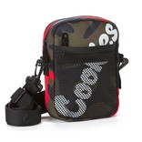 Cookies Cookies Layers Honeycomb Shoulder Bag SP21 Red Camo