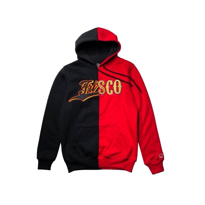 SAVS Frisco Split Hoodie Black/Red