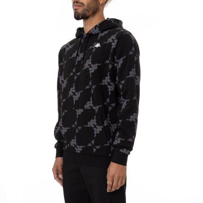 Kappa Kappa Authentic Emaios Blk/Gry/Wht