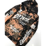 8&9 Trenches Raised Pullover Hoodie Black