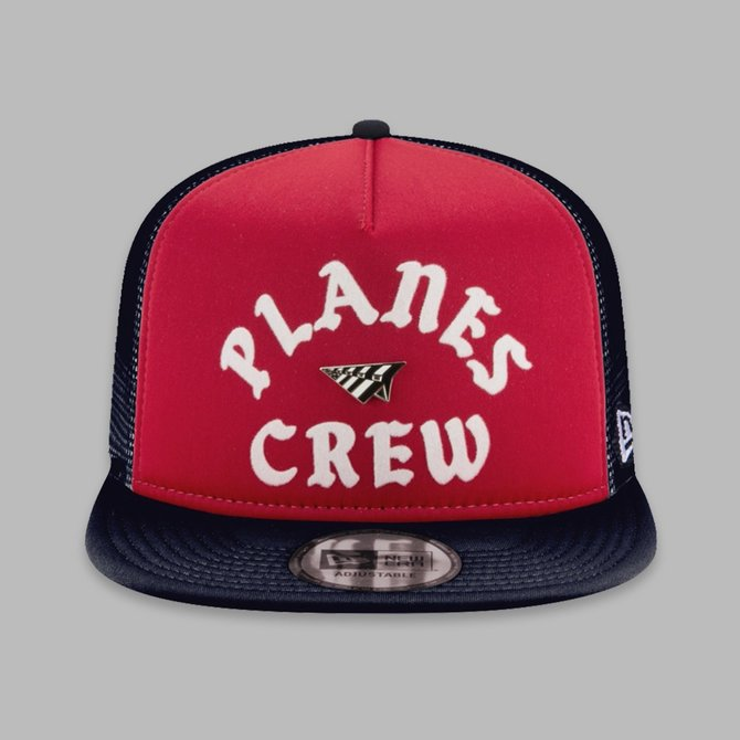 Paper Planes Paper Planes Crew Trucker Two Tone Red/Navy