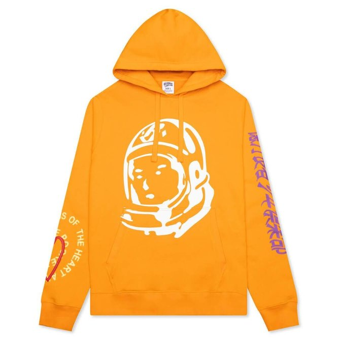 Billionaire Boys Club BBC Mind Hoodie Flame Orange