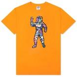 Billionaire Boys Club BBC Astronaut Plans SS Tee Flame Orange