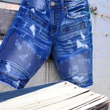 Preme Preme PR-WB-743 Denim Shorts Dk Indigo