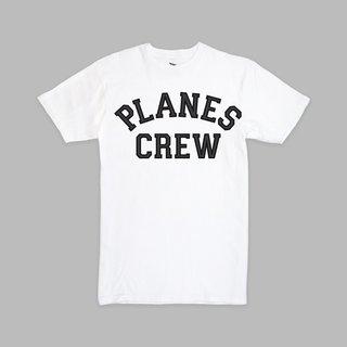 Paper Planes Paper Planes Crew Tee White