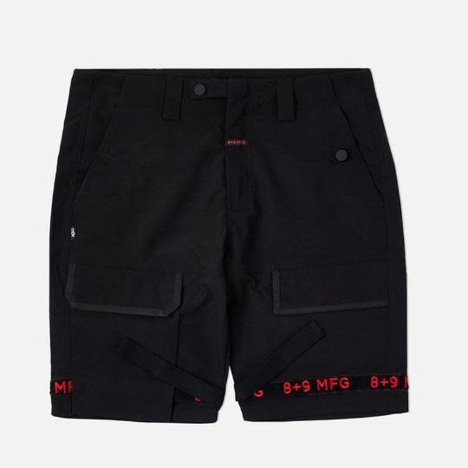 8&9 Strapped Up Shorts Rip Stop Bred
