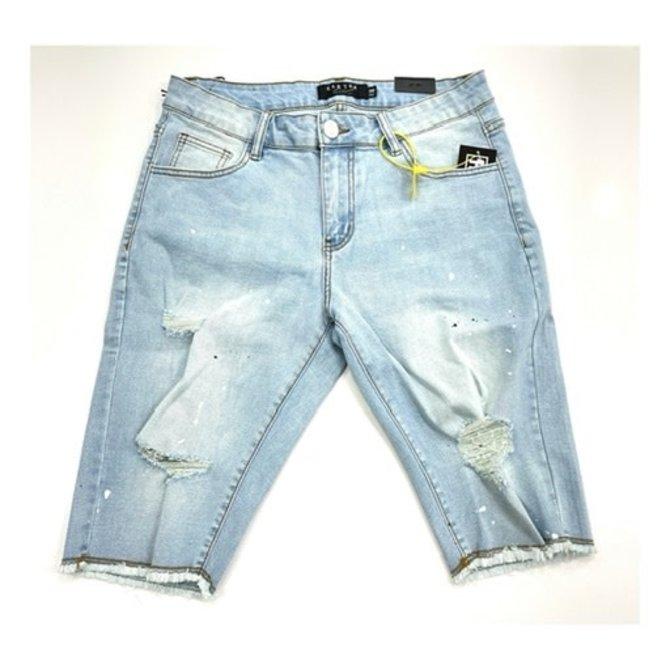 Karter KARPK-309 Denim Shorts Blue