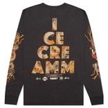 Ice Cream Ice Cream Pierce LS Knit Shale
