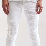Embellish Embellish Spencer Rip & Repair Denim White