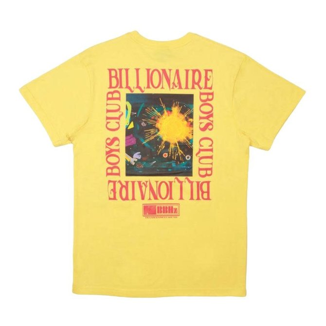 Billionaire Boys Club BBC Supernova SS Tee Aspen Gold