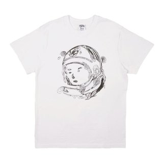 Billionaire Boys Club BBC RA Helmet SS Tee Bleach White