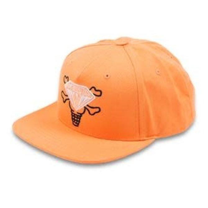 Ice Cream Ice Cream Max Snapback Hat Copper Tan